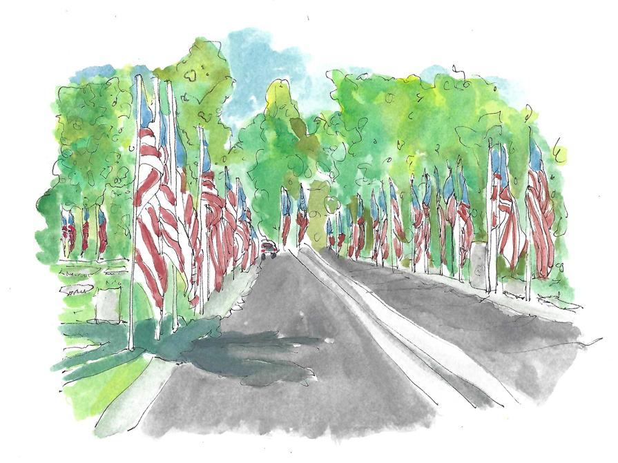 Memorial Day Memories in Visalia California