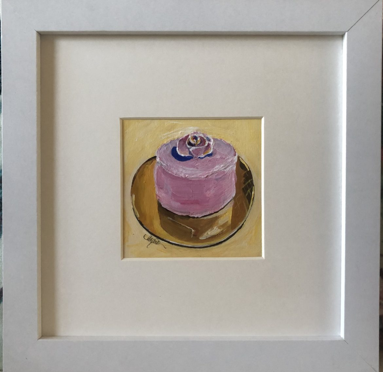 Pink Cake For Kitchen Decor
